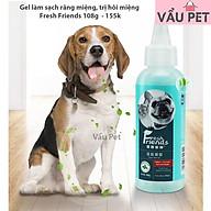 Gel vệ sinh răng miệng, chống hôi miệng, ngăn ngừa cao răng, sạch răng thơm miệng cho chó mèo FF thumbnail