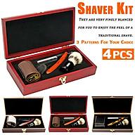 Newest Cut Throat Heavy Straight Razor Wooden Box Gift Set Shaving Brush Strop thumbnail