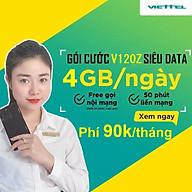 SIM 4G VIETTEL V120Z (V90 2020) thumbnail