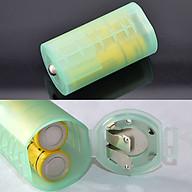 Bộ 2 adapter chuyển đổi 2 pin tiểu AA thành pin đại D thumbnail