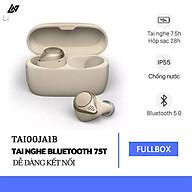 Tai Nghe Bluetooth LANITH Elite 75T - Tai nghe Không Dây Nhét Tai Thông Minh - Thiết Kế Nhỏ Gọn, Chống Nước, Chống Ồn Hiệu Quả - Âm Thanh Chất Lượng Cao, Âm Trầm Mạnh Mẽ - Hàng Nhập Khẩu - TAI00JA1 thumbnail