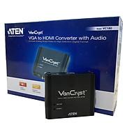Converter VGA Audio to HDMI aten VC180 - Hàng chính hãng thumbnail