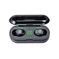 Tai Nghe Bluetooth Không Dây Lanith 5.0 TWS F9 - Tai Nghe Airpord Cao Cấp - Tai Nghe Bluetooth Nhét Tai Kiểu Dáng Độc Đáo, Nhỏ Gọn - Âm Thanh Mềm Mượt, Thoải Mái, Không Làm Nhức Tai - Hàng Nhập Khẩu - TAI000F9B thumbnail