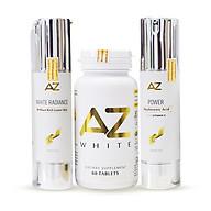 Bộ dưỡng trắng da siêu tiết kiệm AZ White tặng Kem chống nắng AZ SPF 50 - PA+++ thumbnail