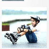 Giày patin trượt Sport cao cấp dành cho trẻ em người lớn có thể điều chỉnh to nhỏ thumbnail