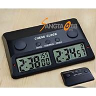 Đồng hồ điện tử đếm ngược thời gian thi đấu cờ vua cao cấp PS-383 (Tặng đèn pin bóp tay mini đa năng-giao màu ngẫu nhiên) thumbnail