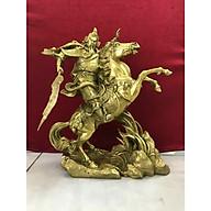 Decor trang trí - Quan công cưỡi ngựa (kt 35x30cm) thumbnail
