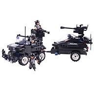 Đồ Chơi Lắp Ghép Xếp Hình Biệt Đội SWAT C0530 Với 448 Chi Tiết - Tặng Kèm 01 Tranh Ghép Bằng Gỗ. thumbnail