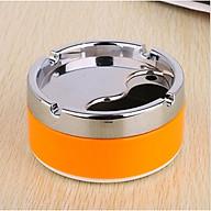 Gạt tàn thuốc nắp xoay - gạt tàn thuốc inox - gạt tàn inox - GTT003 thumbnail