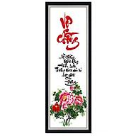 Decal dán tường thư pháp Vợ Chồng trang trí phòng ngủ UD0239K thumbnail