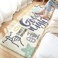 Thảm trải sàn phòng ngủ, thảm phòng khách cao cấp sợi cotton siêu êm, thảm trang trí decor phòng - Hàng chính hãng thumbnail