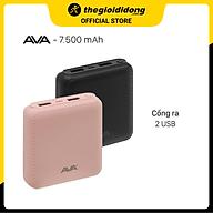 Pin sạc dự phòng 7500 mAh AVA DS004 - Hàng chính hãng thumbnail