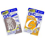Combo Viên uống DHC Ngăn Ngừa Mụn - Mờ Thâm (Kẽm ZinC+VitaminC) thumbnail