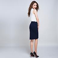 Váy Bút Chì Váy Công Sở Váy Ôm Thời trang thiết kế Hity SKI024 (Xanh Navy) thumbnail
