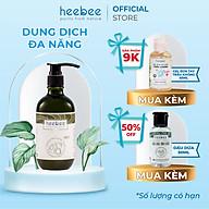 Bồ Hòn Đa Năng Kháng Khuẩn, Khỏe Da Heebee - Soapnut Hair & Body Wash 500ml thumbnail