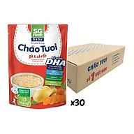 Thùng cháo tươi Baby Sài Gòn Food Gà & Cà rốt 240g x30 gói thumbnail