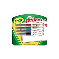 Bút lông viết bảng 4 màu CRAYOLA 9886290001 thumbnail