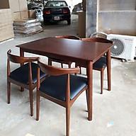 Bộ bàn ăn Elbow 4 ghế thumbnail