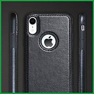 Ốp da đen cao cấp dành cho iPhone XR thumbnail