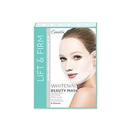 Mặt nạ trắng da Nâng cơ Tạo hình Vline Cenota Whitening Beauty Mask Hộp 6 Miếng thumbnail
