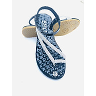 Dép nữ-xăng đan đế bằng xỏ ngón quai chun siêu êm chân, cực dễ đi thumbnail