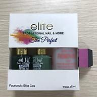 Bộ sơn Móng Tay ELITE MS 50 (gồm hai màu Xanh rêu 154 - Xanh lá 115) - Nước Rửa - Dũa thumbnail