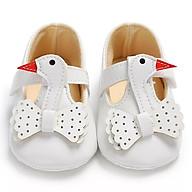 Giày tập đi cho bé gái 0-18 tháng hình thiên nga đáng yêu TD1 thumbnail