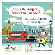Usborne Pussy cat, pussy cat where have you been I ve been to London to visit the Queen. thumbnail