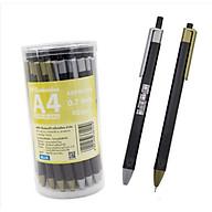 Combo 5 bút bi mực dầu 30R4 M&G-mực xanh-0.7mm - ABPW30R4 thumbnail