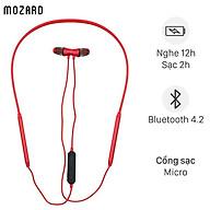 Tai nghe Bluetooth Mozard Q6 Đỏ - Hàng Chính Hãng thumbnail