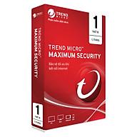 Phần Mềm Diệt Virus Trend Micro Maximum Security - 1PC 12 tháng - Hàng chính hãng thumbnail