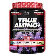 Sản phẩm tăng sức mạnh - Sức bền Elite Labs True Amino vị Grape 450g thumbnail