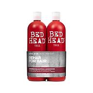 Bộ Dầu Gội và Xả Phục Hồi Tóc Tigi Bed Head Urban Antidotes Resurrection 750ml - Chính hãng thumbnail