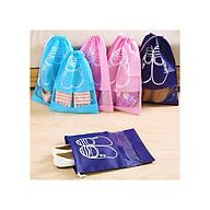 Combo 10 túi đựng giày HR có dây rút tiện lợi (Tặng kèm găng tay lau giày) thumbnail