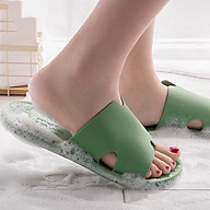 Dép đi trong nhà nữ DT20M1 cao su PVC đế đơn nhiều màu chống trơn trượt dễ cọ rửa thumbnail