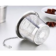 Dụng cụ lọc trà thả ấm inox 304 - 6x6.5cm 29g thumbnail