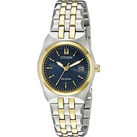 Citizen Women s Eco-Drive Stainless Steel Watch with Date, EW2294-53L thumbnail