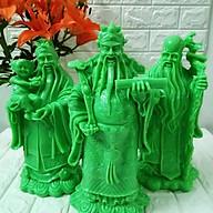 Bộ tượng đá Phúc Lộc Thọ xanh ngọc đại TDX37 thumbnail