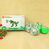 Mega Mini Block-Bộ Sưu Tập 6 Trứng Khủng Long Ghép Thành Khủng Long T-Rex Khổng Lồ DRSTAR - 707 thumbnail