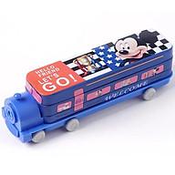 Hộp đựng bút kim loại kiểu dáng tàu hỏa in hình dễ thương thumbnail