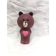Squishy gấu nâu, squishy chậm tăng mùi thơm dịu nhẹ, đồ chơi cho bé trai và bé gái - 4 thumbnail