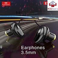 Tai nghe bass cực mạnh cho Samsung Oppo, âm thanh hay, sống động, thiết kế chân 3.5mm, Hàng Chính Hãng thumbnail