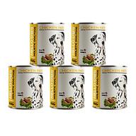 (Combo 5 Lon) Pate Tươi Dành Cho Tất Cả Các Giống Chó Ở Mọi Độ Tuổi Hương Vị Gà Thơm Ngon Dễ Ăn Bắt Vị - Hello Dog Chicken Pate 850G thumbnail