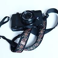 Dây đeo máy ảnh thổ cẩm thêu bản nhỏ Made by Cammix - Hàng chính hãng thumbnail