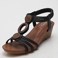 Giày quai ngang nữ giày sandals nữ dép quai hậu nữ cao 5 cm Mã 1418-390 tặng kèm 1 dây buộc tóc ngẫu nhiên thumbnail