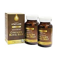 Combo 2 Hộp Thực phẩm chức năng Viên Sữa Ong Chúa Collagen Royal Jelly Honeyland (150 Viên Hộp) - Tặng 2 Hộp 60 viên và 1 Hũ Mật ong rừng thumbnail