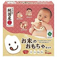 Bộ Gặm Nướu Bằng Gạo Nhật Bản từ PEOPLE Hương gạo & vị gạo trong từng sản phẩm 100% Made in Japan KM020 thumbnail
