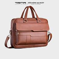 Cặp công sở nam cao cấp TRITA TCA14 đựng laptop tài liệu phong cách sang trọng lịch lãm bảo hành 365 ngày -FADODA thumbnail