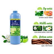 Sữa rửa tay hương nước hoa Ý chanh bạc hà kháng khuẩn Felce Azzurra 750ml thumbnail