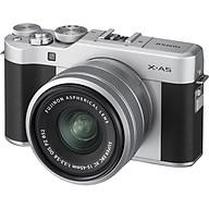 Máy Ảnh Fujifilm X-A5 Kit XC15-45mm f3.5-5.6 OIS (Bạc) + Thẻ Nhớ Sandisk 16GB Tốc Độ 48MB s + Túi Đựng Máy Ảnh Fujifilm - Hàng Chính Hãng thumbnail